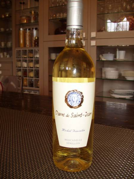 Vin blanc moelleux sud ouest - accompagnement