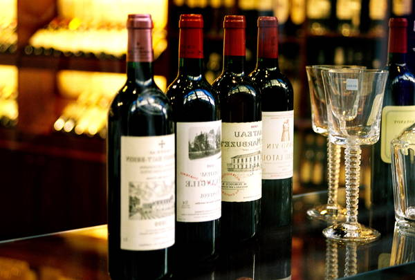 Bordeaux vin - discount