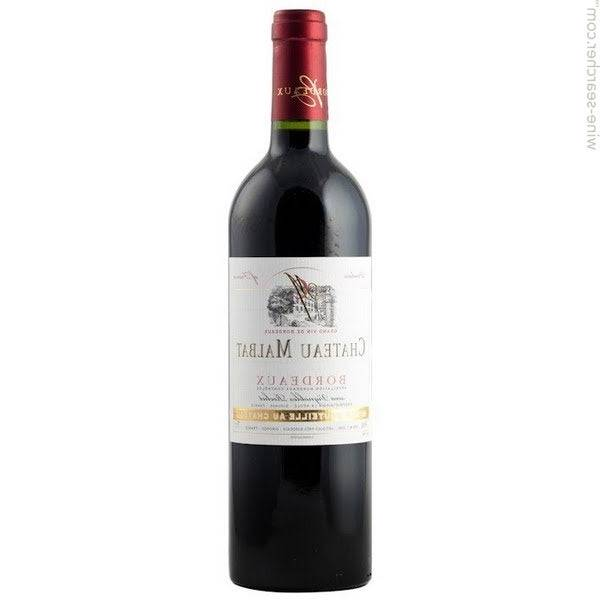 Bordeaux vin - authentique